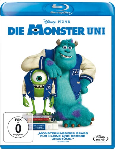 Die Monster Uni Disneys BR