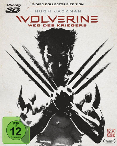 Wolverine - Weg des Kriegers (BR) 3D&2D Min: 126/DD5.1/WS