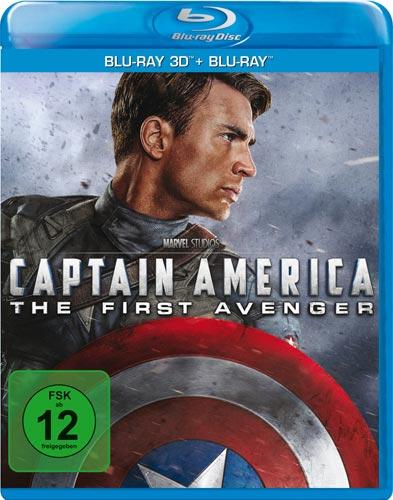 Captain America - The First Aveng.(BR)3D Min: 124/DD5.1/WS  3D&2D