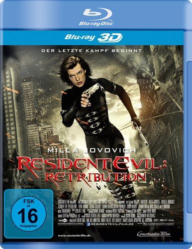 Resident Evil: 5 (BR) -3D- Retribution Min: 100/DD5.1/WS      3D&2D