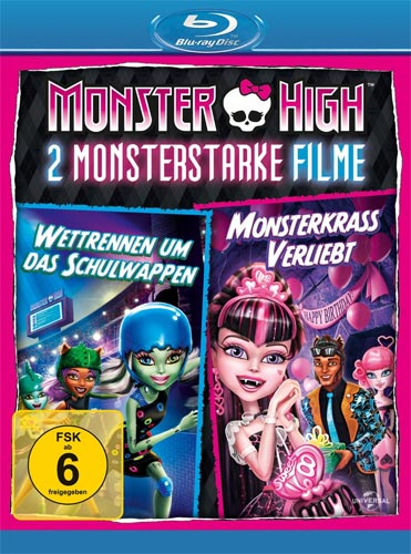 Monster High - 2 monsterstarke Filme BR