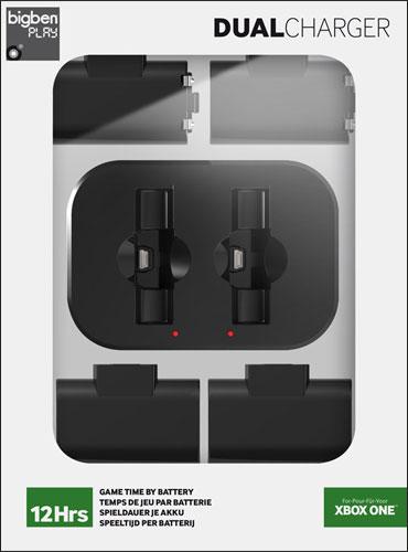 XB-One Ladestation für 2 orig. Contr. Dual-Akku-Ladestation (USB) inkl. 2 Akku