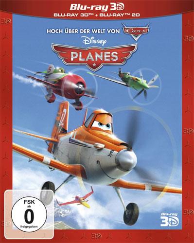 Planes #1 (BR) -3D- Disney  3D&2D, 2Disc Min: 91/DD5.1/WS