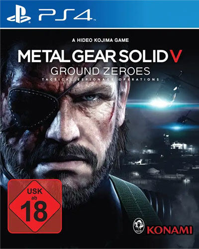 MGS  Ground Zeroes  PS-4 Metal Gear Solid