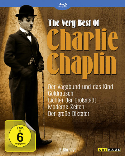 Charlie Chaplin - Very Best of BOX BR