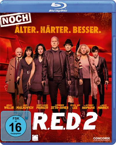 R.E.D. 2 - Älter Härter Besser BR