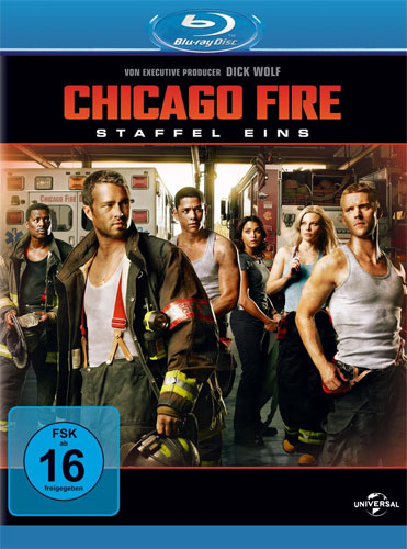 Chicago Fire - Staffel 1  24-Episoden BR