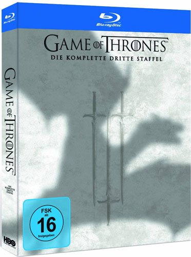 Game of Thrones - kompl. Staffel 3 (BR) 5Disc's