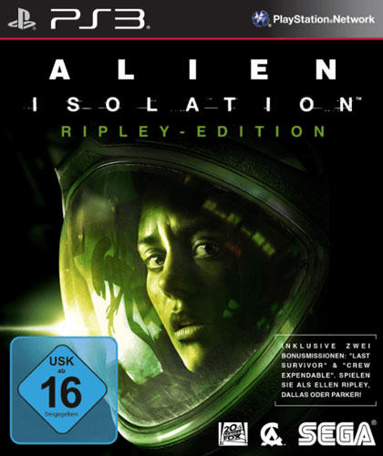 Alien Isolation  PS-3  D1 Ripley Edition