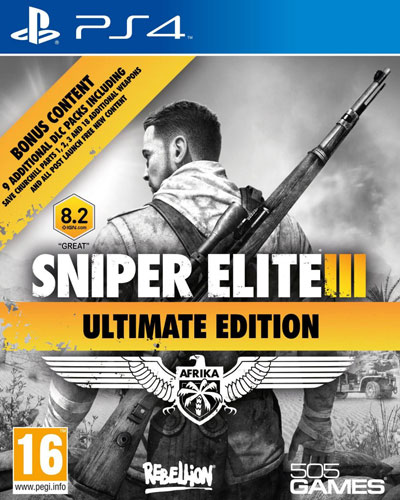 Sniper Elite V3  PS-4  UK multi Ultimate Afrika