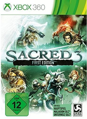 Sacred 3  XB360  1. Edition