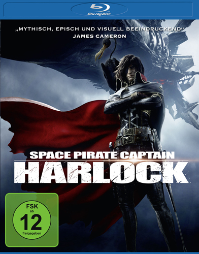 Space Pirate Captain Harlock BR