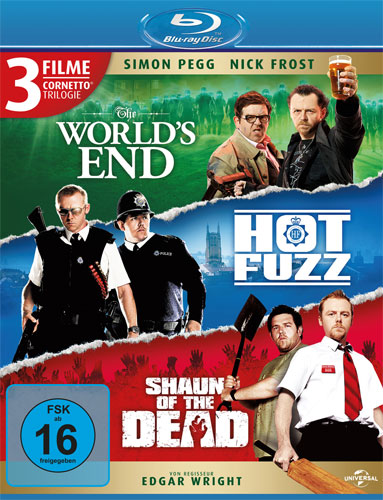 Cornetto - Trilogie BR The Worlds End Hot Fuzz Shaun ofthe Dead BR