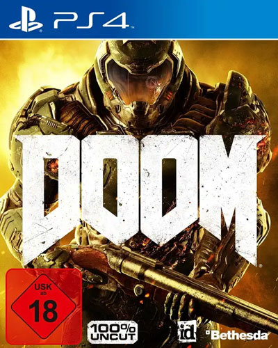 Doom  PS-4   D1 inkl. Demon Multiplayer Pack