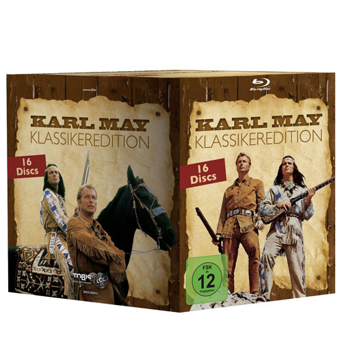 Karl May - Klassikeredition 16 BRs im Schuber