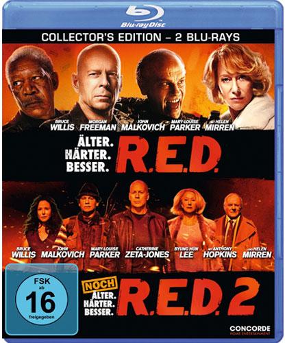R.E.D. 1 und 2 Collectors Edition BR