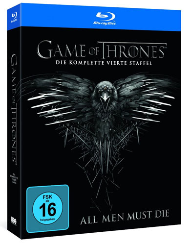 Game of Thrones - kompl. Staffel 4 (BR) 4Disc's