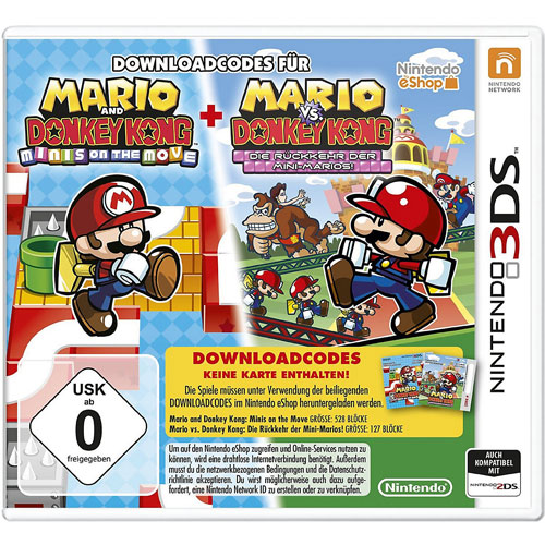Mario & Donkey Kong: Move & March  3DS DLC Code