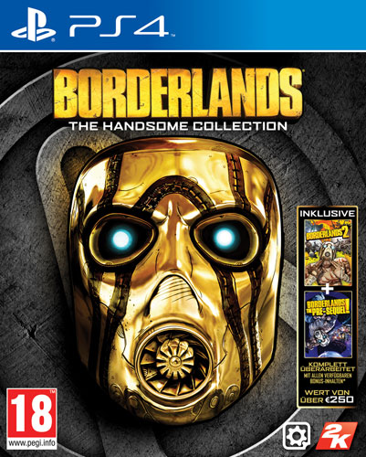 Borderlands  Handsome Coll. PS-4  AT