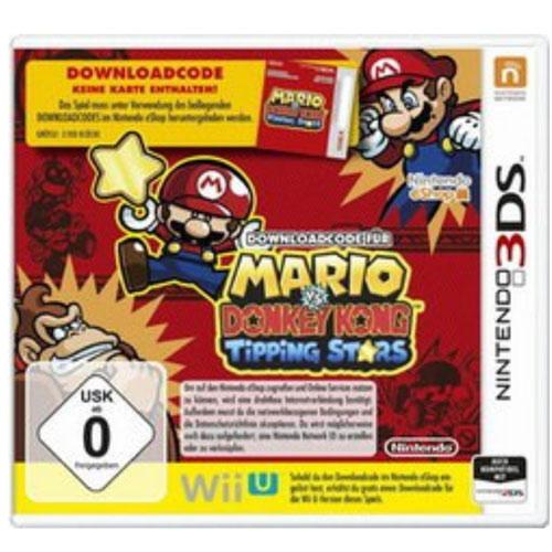 Mario  vs Donkey Kong: Tipping Stars 3DS DLC Code