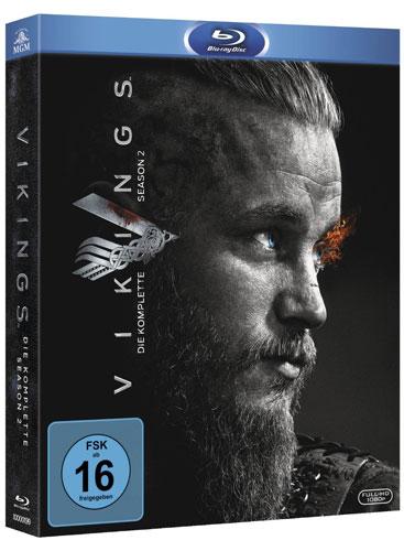Vikings - Staffel #2 (BR)  3Disc Min: /DD5.1/WS       REPACK