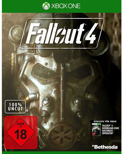 Fallout  4  XB-One  D1 inkl Downloadcode für Fallout 3 inkl. Perk Poster
