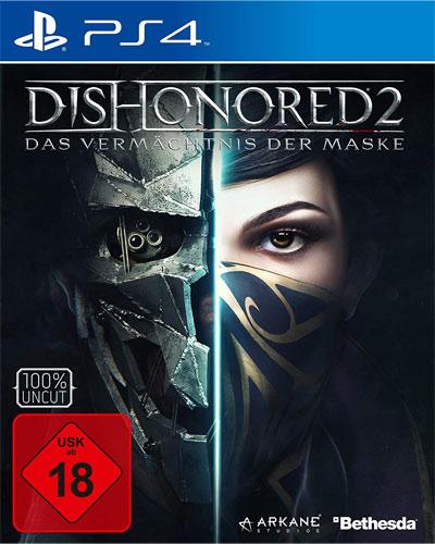 Dishonored 2  PS-4   D1 Vermächtnis der Maske