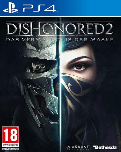 Dishonored 2  PS-4   D1  AT Vermächtnis der Maske