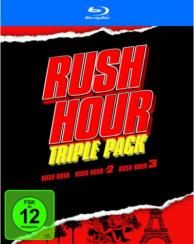Rush Hour - Trilogy  BR