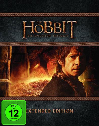 Hobbit, Der  Trilogie E.E. (BR) 9Disc's Extended Edition