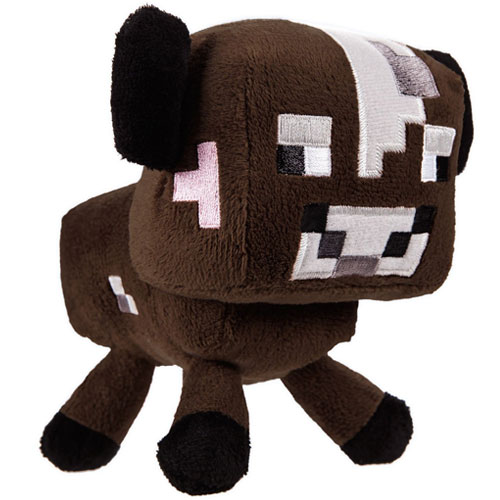 Merc Minecraft Plüsch braune Kuh