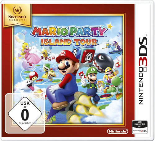 Mario Party Island Tour  3DS SELECTS