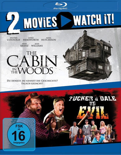 Tucker und Dale  Cabin in the Woods  Doppelset BR