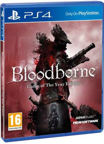 Bloodborne  PS-4 GOTY AT