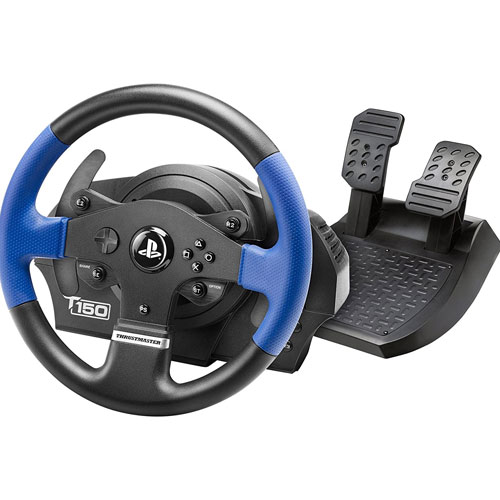 PS4 Lenkrad T150 RS Force Feedback Thrustmaster  (auch PS-3 / PC) offiziell lizensiert