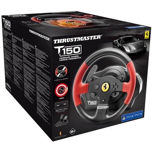 Multi Lenkrad T150 RS Ferrari PS-4 Thrustmaster  (auch PS-3 / PC) offiziell lizensiert