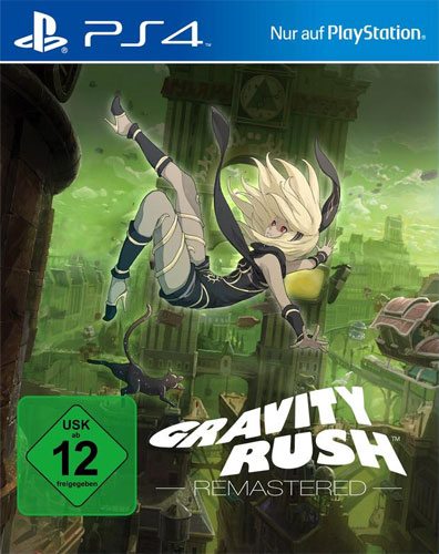 Gravity Rush Remastered  PS-4