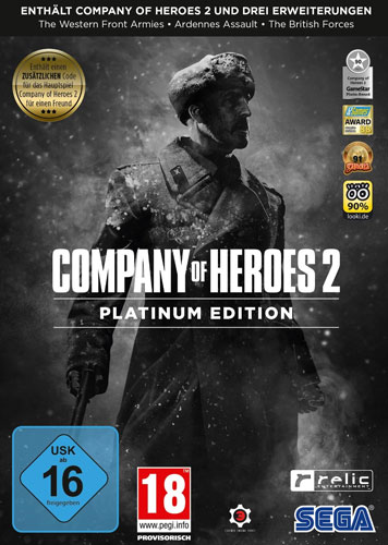 Company of Heroes 2  PC  PLATINUM Ed. OR