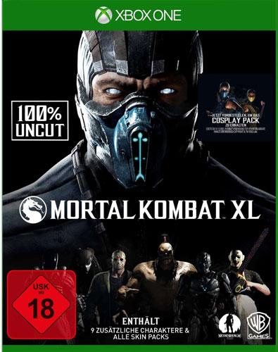 Mortal Kombat XL  XB-One inkl Pack 1+2 (DLC)