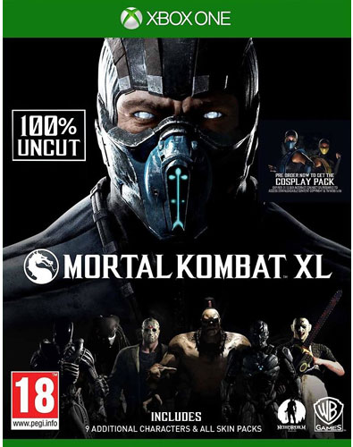 Mortal Kombat XL  XB-One  AT inkl Pack 1+2/ Skin Packs auf CD