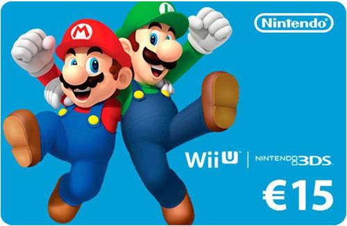 Nintendo Pin  15 Euro Code wird als pdf-Datei geliefert