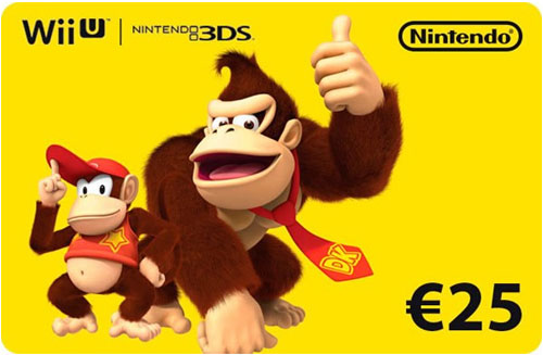 Nintendo Pin  25 Euro Code wird als pdf-Datei geliefert