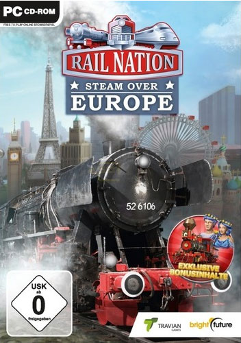 Rail Nation Europe  PC  (OR) Steam over europe