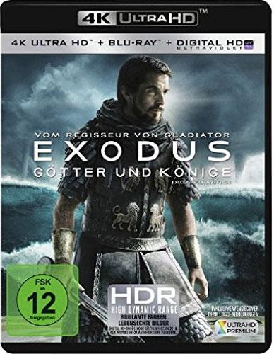 Exodus - Götter und Könige (UHD+BR) 4K Min: 149/DD5.1/WS  2Disc
