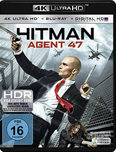 Hitman Agent 47 (UHD+BR) 4K Min: 96/DD5.1/WS  2Disc