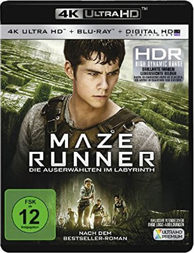 Maze Runner #1 (UHD+BR) 4K Ultra HD Min: 113/DD5.1/WS  2Disc