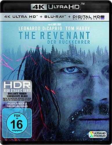Revenant, The (UHD+BR) 4K Ultra HD Min: /DD5.1/WS     2Disc  Der Rückkehrer