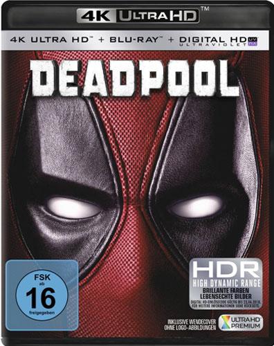 Deadpool #1 (UHD+BR) 4K Ultra HD Min: 108/DD5.1/WS     2Disc