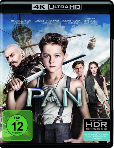 PAN - Jede Legende hat e.Anfang (UHD) Min: 111/DD5.1/WS  4K Ultra HD