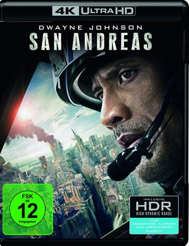 San Andreas (UHD)  4K Ultra HD Min: 118/DD5.1/WS